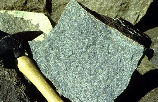 Polished Olivine Basalt Co : Alkali basalt images